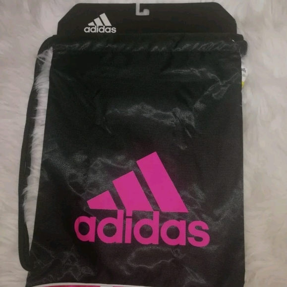 Adidas Burst II black/pink Sport Bag Training Sack